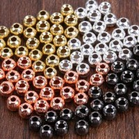 Brass Beads  50 x 3.8 mm
