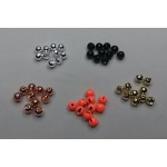 Tungsten Slotted Beads 2,5mm/20pcs