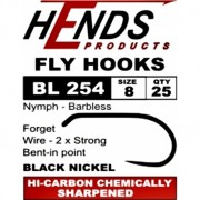 Hends Fly Hook - Nymphs - 2x Strong BL 254