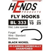 Hends Fly Hook - Lake Special - Lures, Bobies, Wet - Barbless BL 333