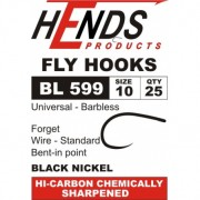 Hends Fly Hook - Shrimp, Pupa, Lures -  super strong BL 599