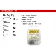 Knapek Dry Fly Barbless  - Qty. 25