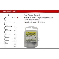 Knapek Lake Hooks Barbless  - Qty. 25